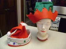 Elf Christmas Hat w/Jingle Bells // Santa Hat -- New With Tags in Houston, Texas