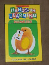 Scholastic Hands-On Learning Touch & Feel Cards (Updated 7/6/2016) in Aurora, Illinois