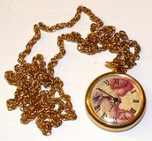 J108 Gold-tone Watch Necklace in Ramstein, Germany