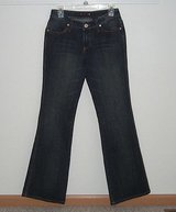 Vanilla star dark wash boot cut jeans womens sz 7 juniors jrs bootcut in Morris, Illinois