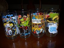 Muppet .Glasses, NEW Set of 4 from 1981 in Brookfield, Wisconsin