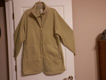 Womens Fleece Green  Coat in Fort Riley, Kansas