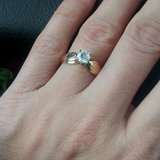 classic engagement or promise ring in Chicago, Illinois