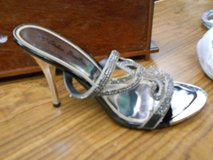 sparkly high heeled sandals NIB in Cherry Point, North Carolina