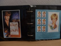 Princess Diana Stamp Collection in Ramstein, Germany