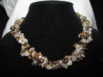 20 inch Stone Bead Braid Necklace in Kankakee, Illinois
