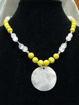 18 Inch Beaded and Stone Necklace in Kankakee, Illinois