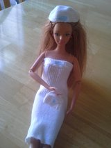 Barbie white outfit in Travis AFB, California
