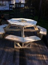 picnic table in Fort Polk, Louisiana