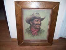BILL HAMPTON COWBOY PRINT, SIGNED in Ruidoso, New Mexico