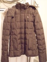 ***Brown Abercrombie Kids coat***SZ L 10/12 in Cleveland, Texas
