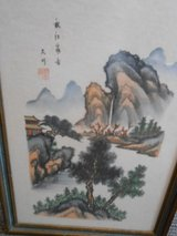 ink on silk oriental picture in Cherry Point, North Carolina